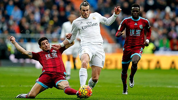 Real Madrid vs. Real Sociedad  EN VIVO desde Anoeta por la Liga BBVA. (Getty)