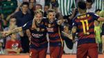 Barcelona ganó 2-0 a Betis y sigue como líder de la Liga BBVA - Noticias de german montoya