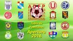 Torneo Apertura: tabla de posiciones y resultados EN VIVO de los partidos pendientes - Noticias de real garcilaso