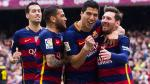Barcelona goleó 5-0 a Espanyol y quedó a un pasó del título de Liga BBVA - Noticias de marcos caicedo