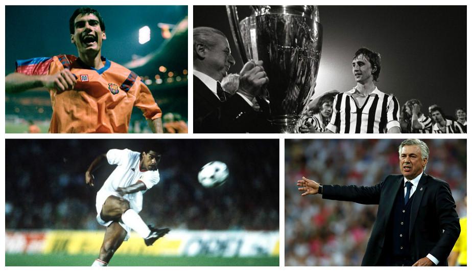 Los ganadores de la Champions League como jugadores y ...