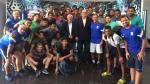 Alianza Lima: Walter Oyarce ofreció charla a la reserva blanquiazul - Noticias de walter oyarce