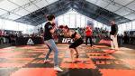 Cris Cyborg cumplió sueño de pequeña fanática en la previa del UFC 198