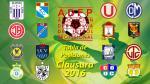 Torneo Clausura: tabla de posiciones y resultados de la fecha 1 - Noticias de real garcilaso
