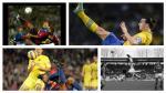 A lo Higuaín: los 10 mejores goles de chalaca de la historia (Gifs) - Noticias de chalaca