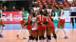 Perú obtuvo su primera victoria en el Preolímpico al vencer a Rep. Domincana - Noticias de jugadoras de voley