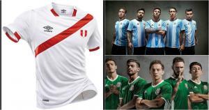 Mira en esta galería las camisetas que serán utilizadas en la Copa América Centenario (Collage)