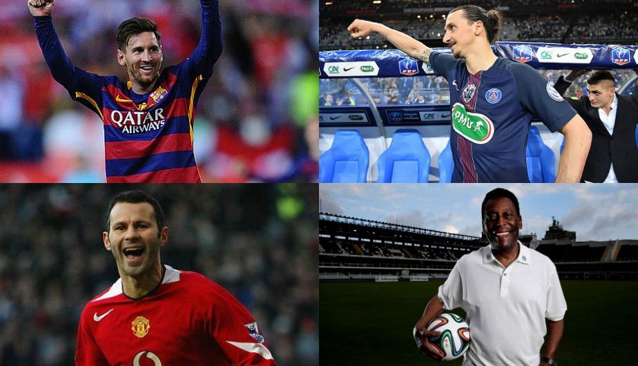 Estos son los jugadores que han ganado más títulos en toda la historia (Getty Images).