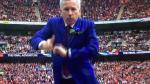 Técnico de Crystal Palace festejó gol con peculiar baile (VIDEO) - Noticias de alan pardew