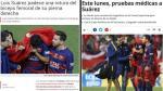 Luis Suárez: lo que se dice en España de la lesión del uruguayo - Noticias de portal deportivo