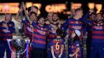 Barcelona celebró a lo grande el doblete conseguido esta temporada (FOTOS) - Noticias de ultima evaluación censal 2013 cuadro estadistico