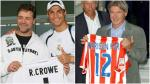 Real Madrid vs Atlético Madrid: sus hinchas más famosos (FOTOS) - Noticias de madrid enrique cerezo