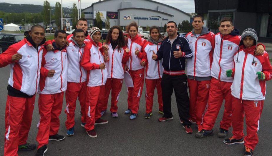 La delegación peruana consiguió cuatro medallas en el Mundial IFMA Muay Thai. (Difusión)