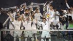 Así celebraron los jugadores del Real Madrid en el Santiago Bernabéu tras ganar la Champions League. (Foto: AFP)