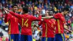 España goleó 6-1 a Corea del Sur y se pone a punto para la Eurocopa - Noticias de amistoso perú vs corea