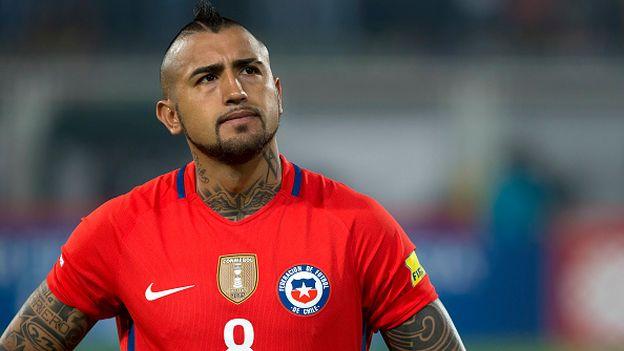 Arturo Vidal culpó al árbitro por derrota ante Argentina