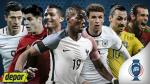 Eurocopa Francia 2016: fixture, resultados y calendario del torneo - Noticias de portugal vs. suecia