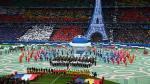 Eurocopa Francia 2016: Así se llevó a cabo la ceremonia de inauguración - Noticias de edith piaf
