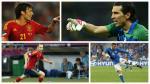 España vs. Italia: Los jugadores que repetirán la última final de la Eurocopa - Noticias de andrea pirlo