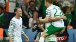 Irlanda ganó 1-0 a Italia y clasificó a octavos de la Eurocopa Francia 2016 - Noticias de neil brady