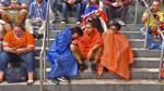 Colombia vs. Chile: así vivieron los hinchas el mal tiempo en Chicago - Noticias de estadio nacional