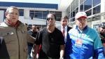 Ronaldinho: así fue recibido en Cusco el crack brasileño - Noticias de bienvenida la tarde
