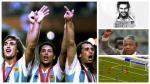 ¿Qué pasaba en el mundo la última vez que Argentina fue campeón? - Noticias de gabriel omar batistuta