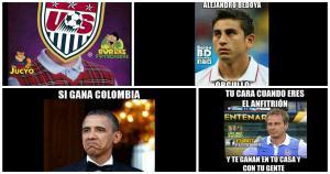 Los mejores memes del triunfo de Colombia sobre Estados Unidos.