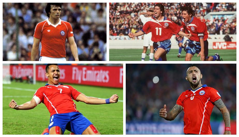 Los mejores futbolistas en la historia del fútbol en Chile (Getty).