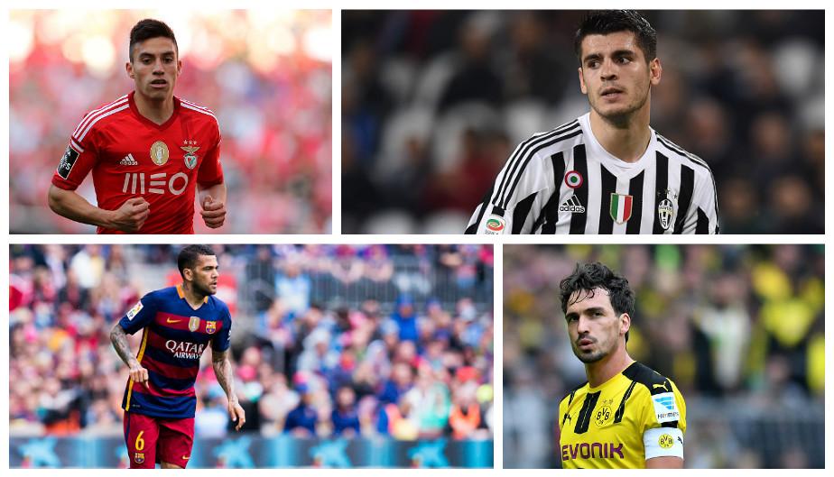 Los refuerzos de los principales clubes la próxima temporada (Getty).