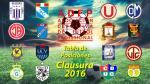 Torneo Clausura: tabla de posiciones y resultados de la fecha 5 - Noticias de utc