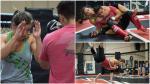 UFC 200: el extenuante entrenamiento de Miesha Tate para conservar el título
