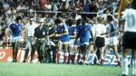 Francia - Alemania: La brutal falta del portero germano en semifinales - Noticias de michael platini