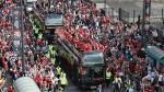 Gales tuvo multitudinario recibimiento tras participación en la Eurocopa - Noticias de cantolao