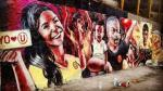 Universitario: el polémico mural de Rocío Miranda que adorna el Monumental - Noticias de comando sur