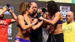 Miesha Tate y Amanda Nunes muy agresivas en el pesaje del UFC 200 - Noticias de jose enrique silva