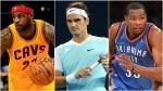 Roger Federer, LeBron James y los diez atletas mejor pagados del mundo - Noticias de cleveland cavaliers