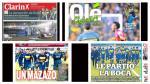 Copa Libertadores: la reacción de la prensa argentina tras derrota de Boca - Noticias de guillermo barros schelotto