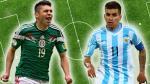 México vs. Argentina: juegan amistoso en Puebla antes de Río 2016 - Noticias de victor peralta