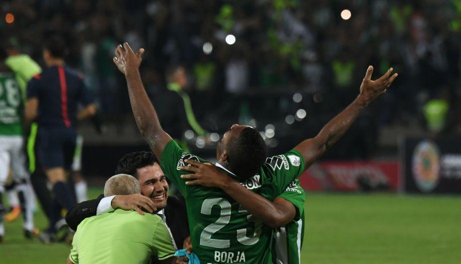 Atlético Nacional festejó su segunda consagración en la Copa Libertadores. (Getty Images)