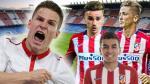 Atlético de Madrid y la súper delantera que formó con la llegada de Gameiro - Noticias de luciano vietto