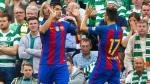 Barcelona: las mejores fotos del triunfo ante Celtic con su nueva camiseta - Noticias de liga bbva