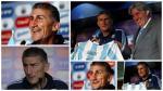 Edgardo Bauza nuevo DT de Argentina: las mejores frases de su presentación - Noticias de copa federación