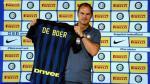 Inter de Milán fichó a Frank de Boer como su nuevo técnico hasta el 2019 - Noticias de roberto mancini