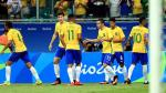 Brasil venció 4-0 a Dinamarca y clasificó a cuartos de final en Río 2016 - Noticias de felipe anderson