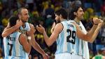 Argentina logró agónico triunfo sobre Brasil en básquet masculino de Río 2016 - Noticias de nene hilario