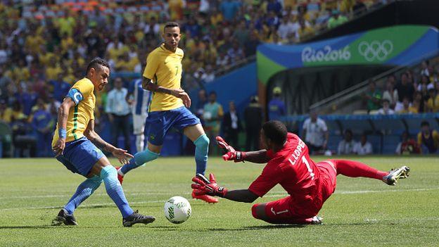 Brasil goleó 6-0 a Honduras y regresa a la final de los Juegos de Río 2016