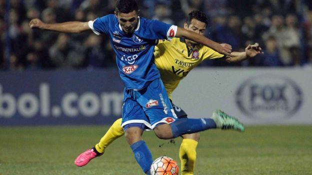 Wilstermann vs.  Sol de América hoje match play Copa Sul-Americana