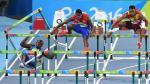 Río 2016: haitiano tropezó con una valla y se cayó de cabeza - Noticias de saltado de coliflor