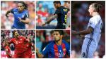 Como Suárez en Barcelona: ellos también llevarán la '9' en clubes de Europa - Noticias de supercopa de españa